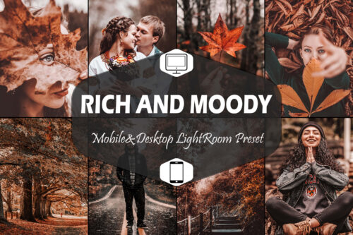 10 Rich and Moody Lightroom Presets