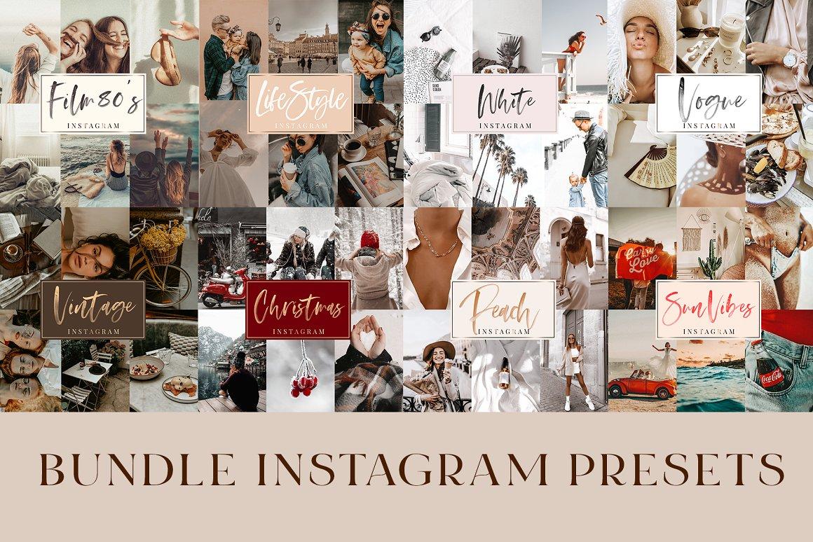 14 Mobile Presets Instagram Bundle