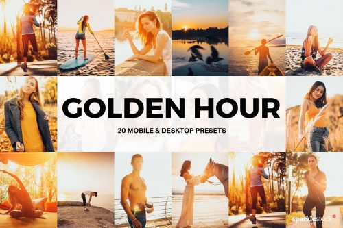 20 Golden Hour Lightroom Presets and LUTs Cover