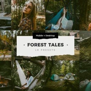 4 Forest Tales Lightroom Presets
