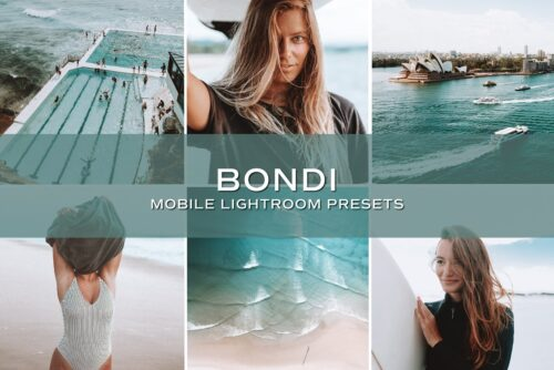 5 Bondi Lightroom Presets