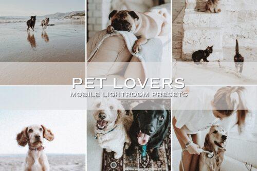 5 Moody Pet Lightroom Presets