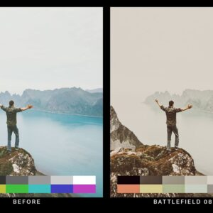 50 Desolated Cinematic Lightroom Presets and LUTs 2