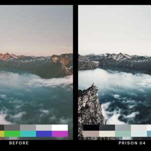 50 Desolated Cinematic Lightroom Presets and LUTs 4