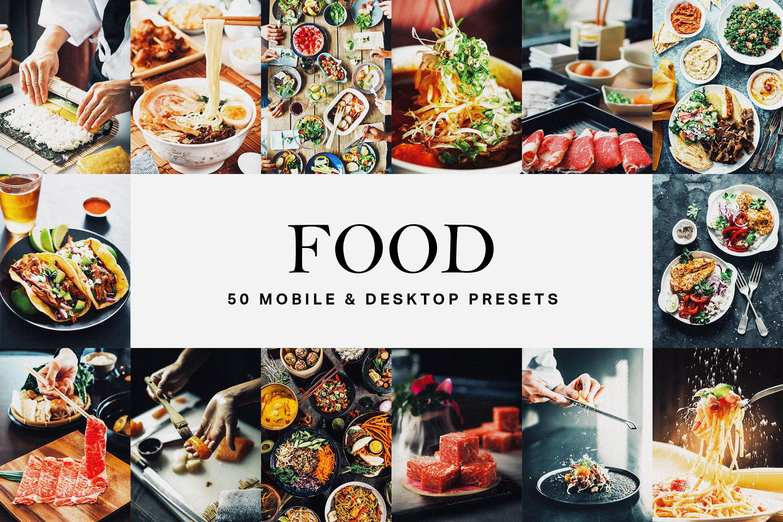 ۵۰ پریست لایت روم خوراکی بهمراه LUT ها