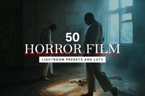 ۵۰ پریست فیلم ترسناک لایت روم و LUTs