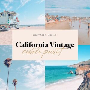 6 Pack Lightroom Preset Bundle California Vintage