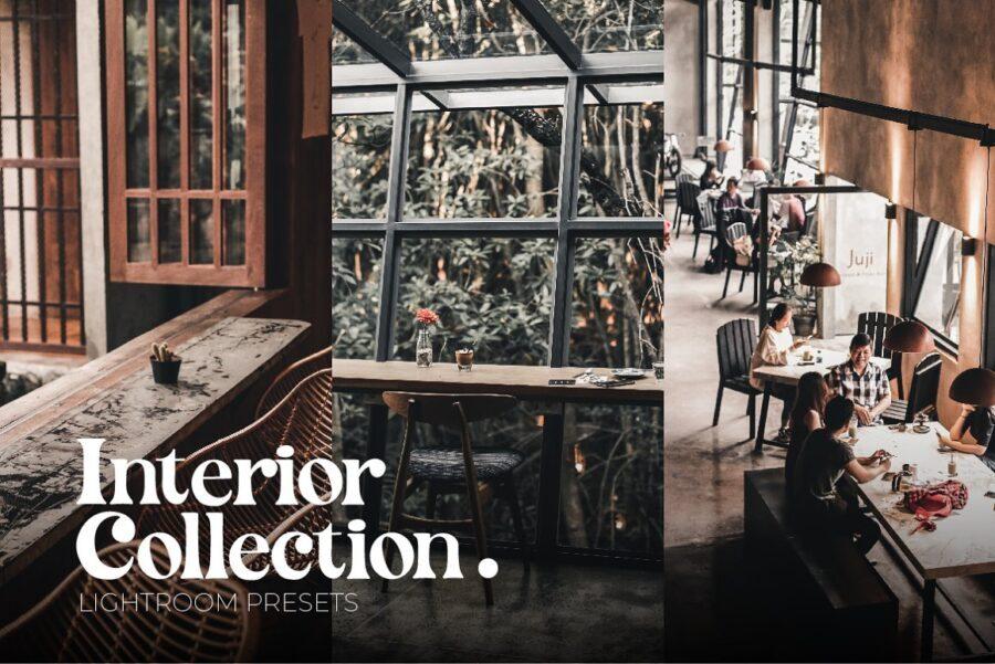 پریست های لایت روم مجموعه داخلی کافه