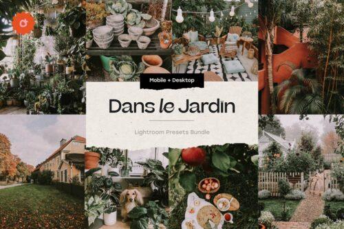 8 Jardin Lightroom Presets