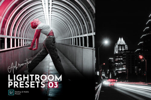 Achromatic Lightroom Presets Pack