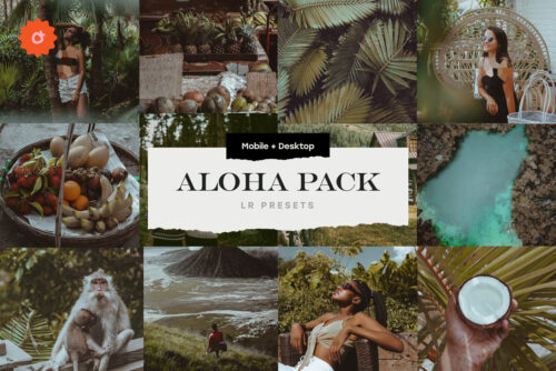 Aloha 8 Lightroom Presets Pack