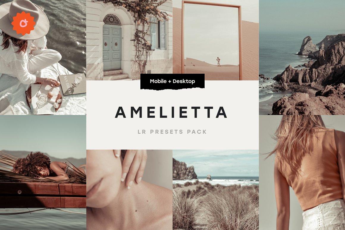 Amelietta 6 Lightroom Presets