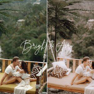 Bright Airy Wedding Preset Pack 5