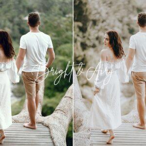 Bright Airy Wedding Preset Pack 6