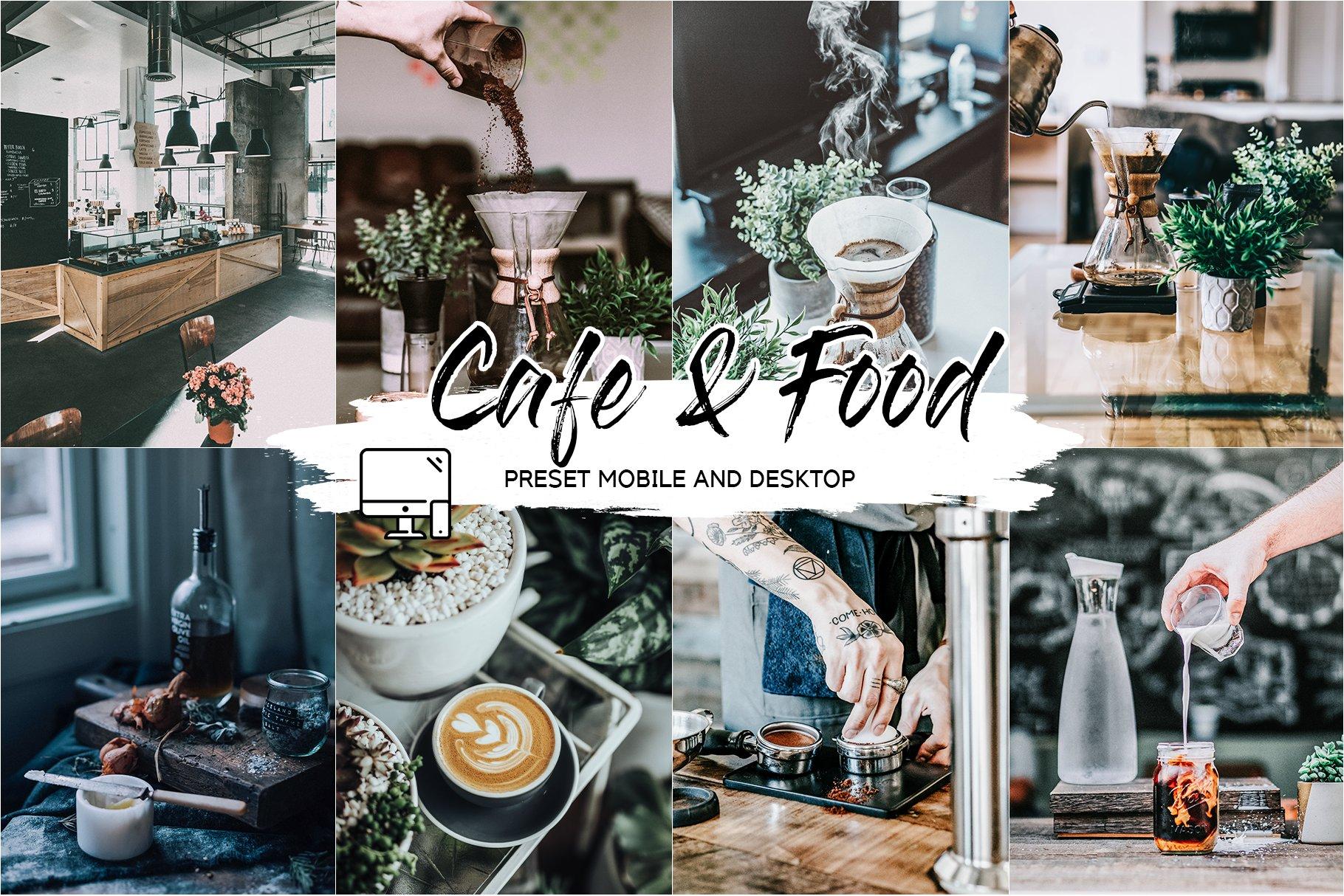 مجموعه پریست کافه و مواد غذایی