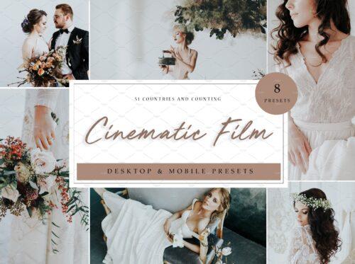 Cinematic Film Lightroom Presets