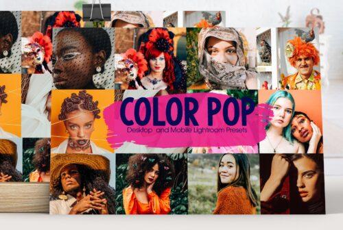 Color Pop Lightroom Presets