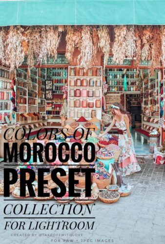 Colors Of Morocco Preset Collection
