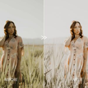 Creamy Portraits Premium Lightroom Presets Pack 4