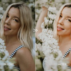 Creamy Portraits Premium Lightroom Presets Pack 5
