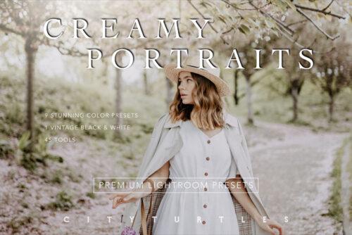 Creamy Portraits Premium Lightroom Presets Pack