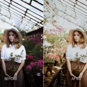 Creamy Portraits Premium Lightroom Presets Pack 6
