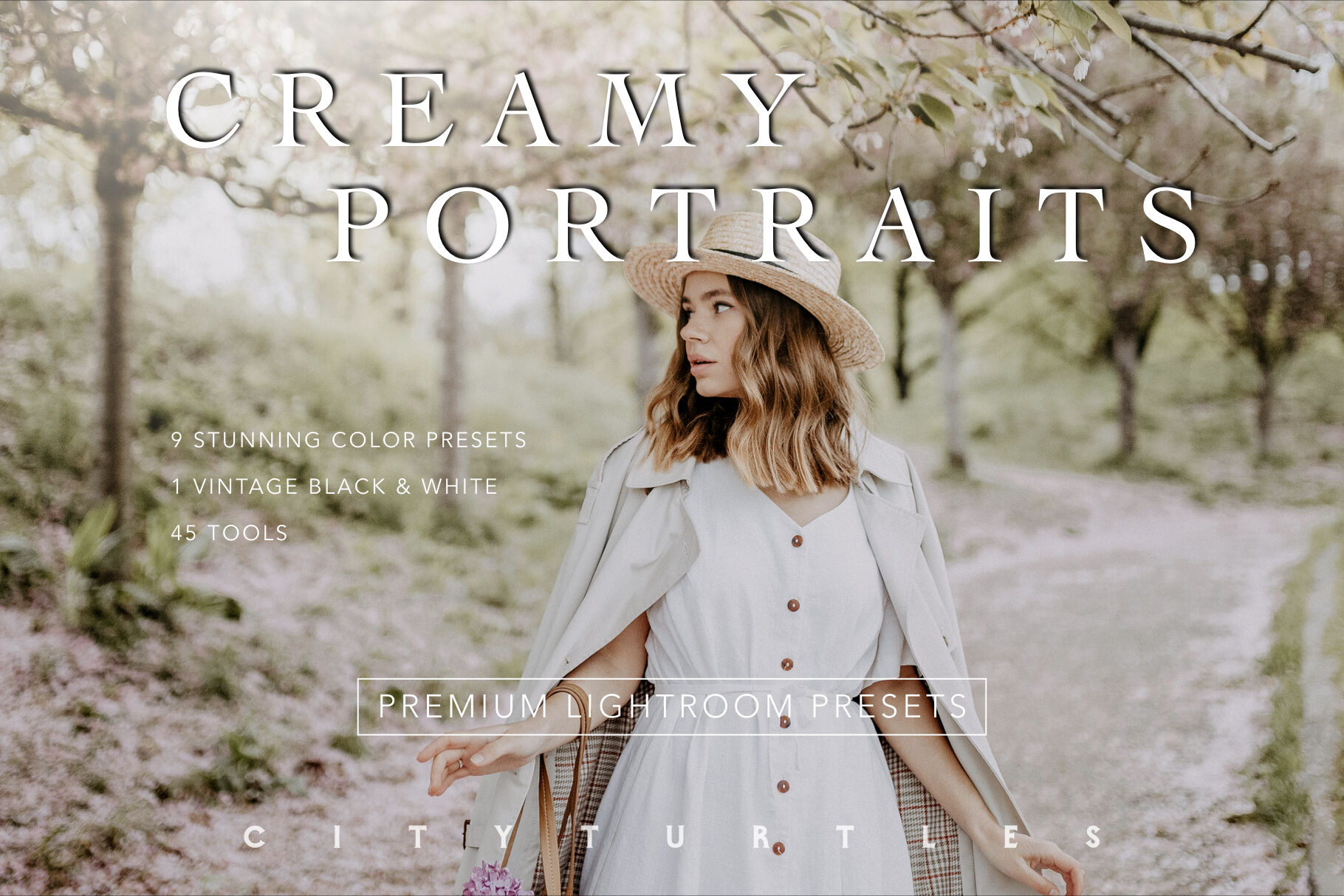 Creamy Portraits Premium Lightroom Presets Pack