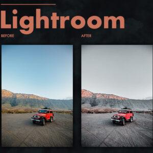 Dark Effect Lightroom Preset 2
