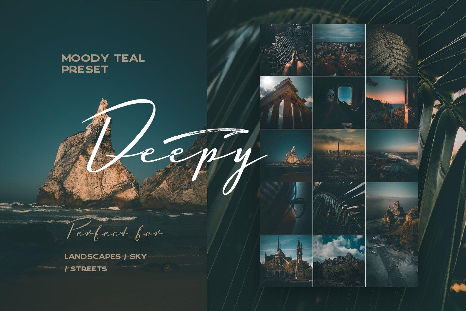 پریست لایت روم Deepy Moody Teal