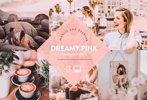 Dreamy Pink Lightroom Presets