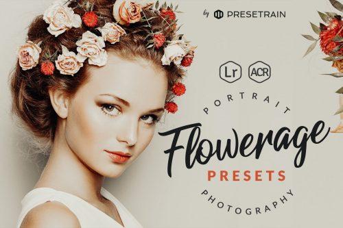 Flowerage Portrait Presets for Lightroom ACR Cover