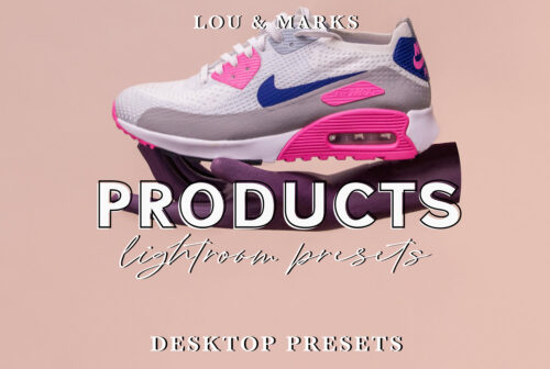 LOU MARKS Product Photography Lightroom Presets