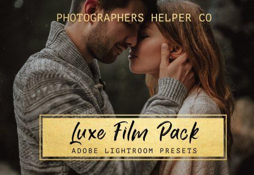 Luxe Film Tones Lightroom Presets for Wedding Portraits