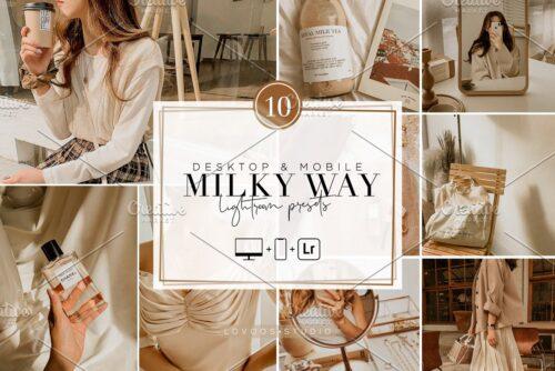 MILKY WAY Lightroom Presets