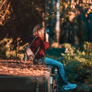 پریست های لایت روم مجموعه مودی پاییز