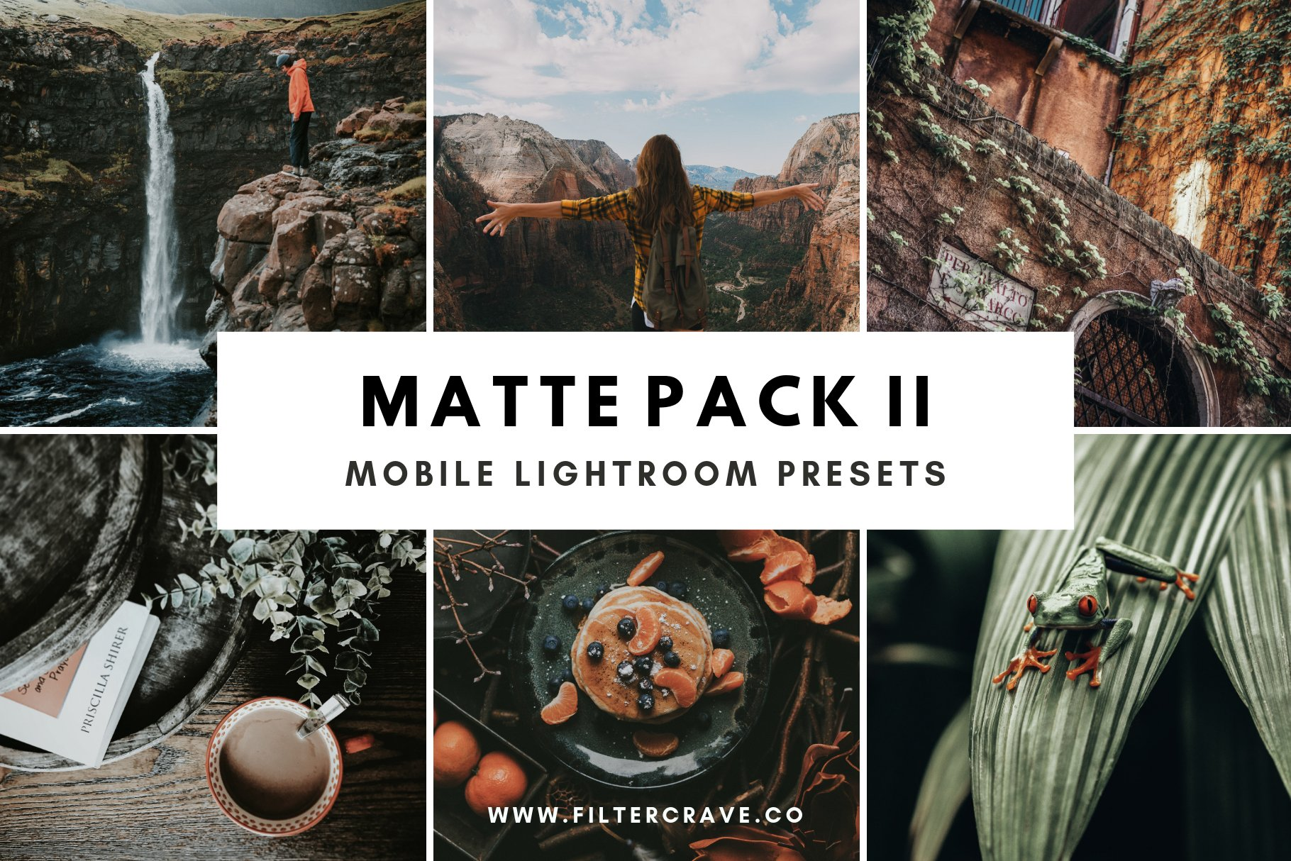 Matte Lightroom Presets Vol. II