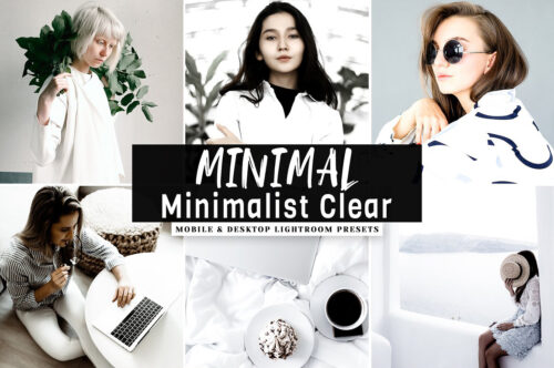 Minimalist Clear Lightroom Presets