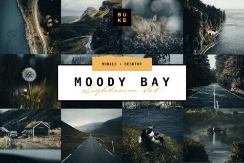 Moody Bay Pro Lightroom Presets