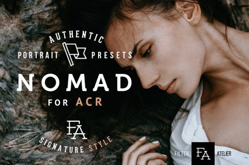 Nomad ACR Photoshop Presets Cover