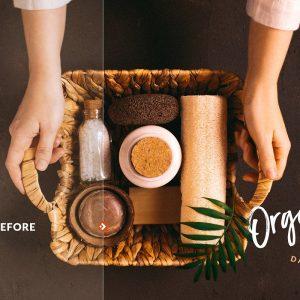 پریست های لایت روم مجموعه مواد غذایی ارگانیک