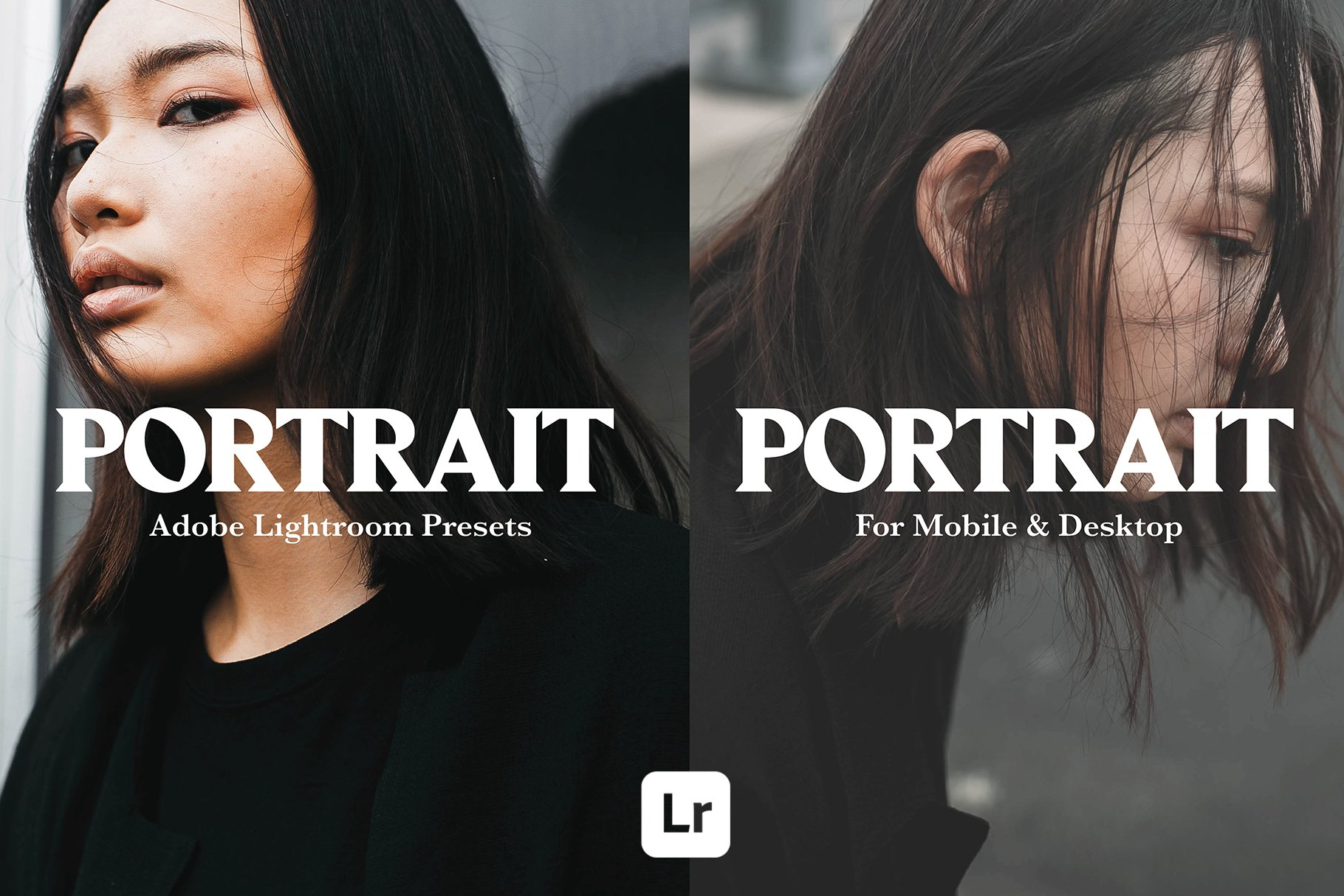 PORTRAIT MOBILE LIGHTROOM PRESETS