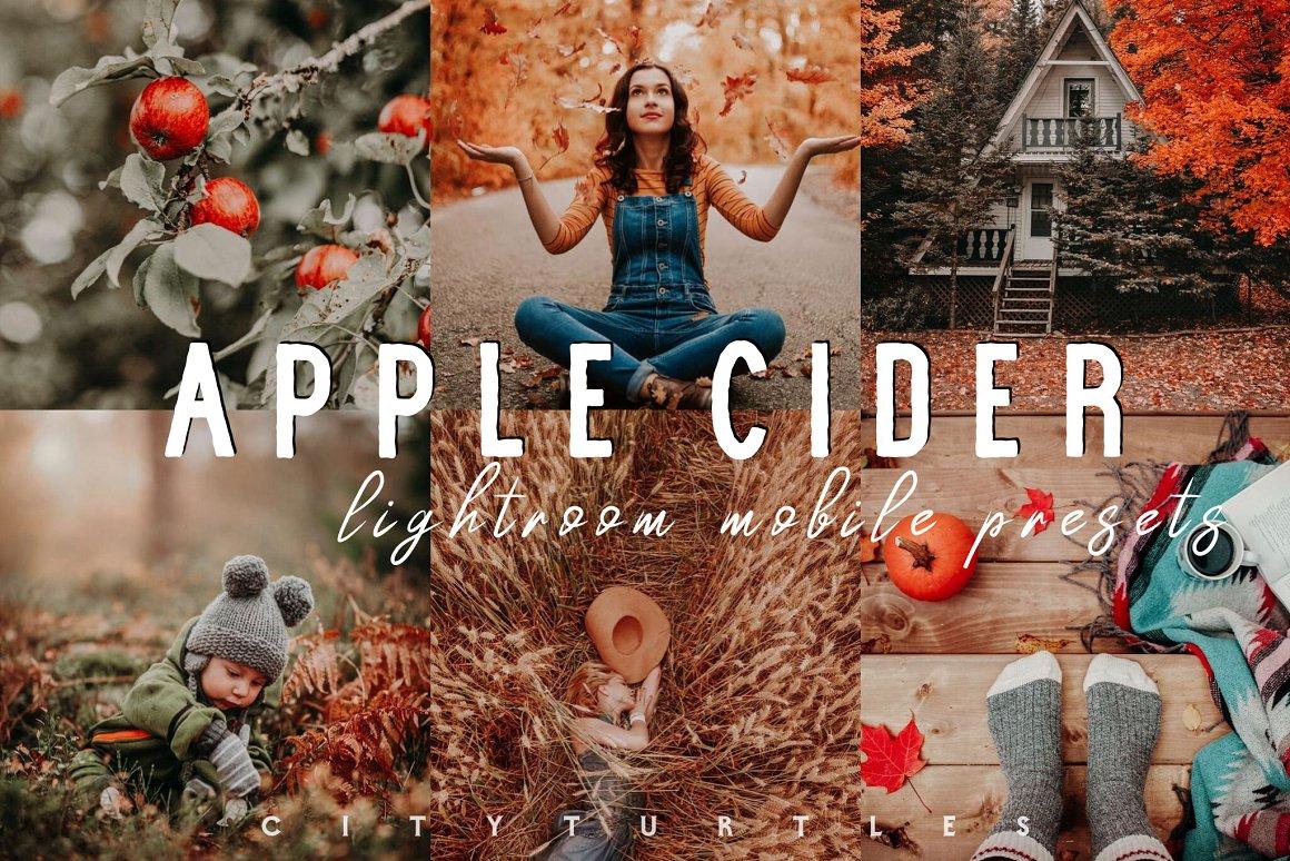 پریست لایت روم موبایل مجموعه پاییزی آب سیب