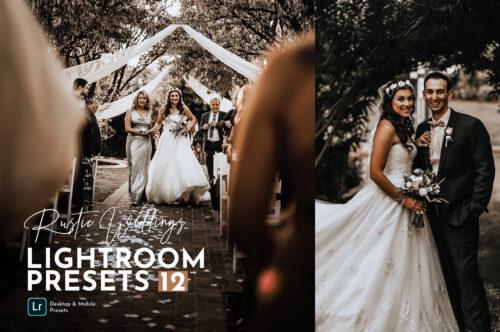 Rustic Wedding Lightroom Preset Pack
