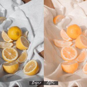 پریست های لایت روم مجموعه اینفلوئنسر نارنگی
