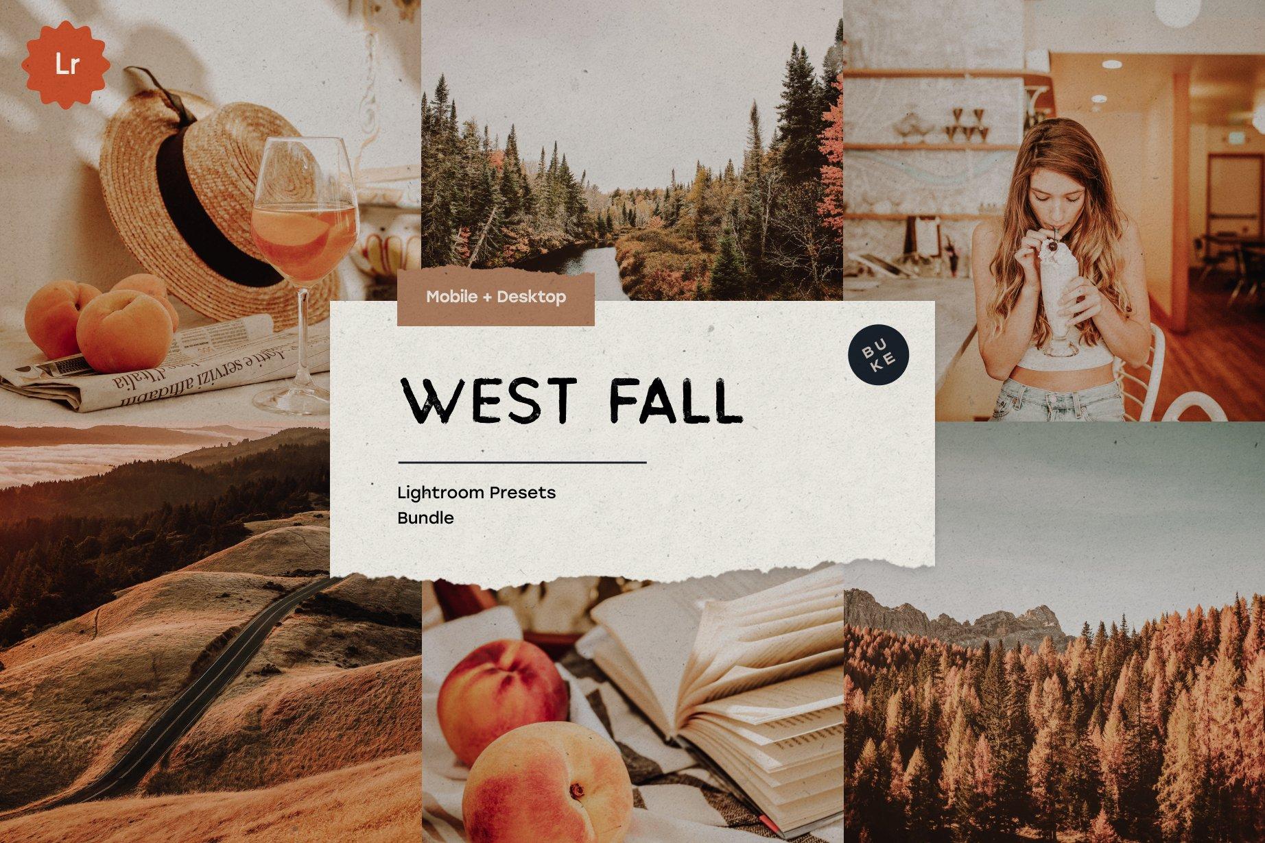 West Fall 5 Lightroom Presets Pack